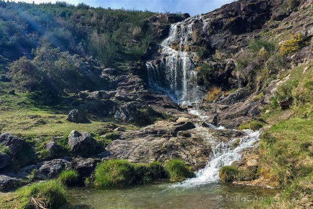 Galicia Rias Baixas Ruta Muíños do Folón e do Picón Cascada
