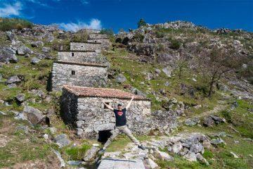 Galicia Rías Baixas Ruta Muíños do Folón e do Picón Salto