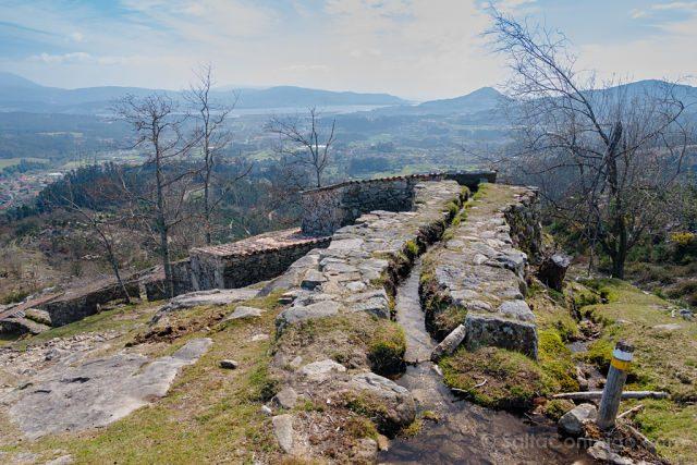 Galicia Rias Baixas Ruta Muíños do Folón e do Picón Vista Alto