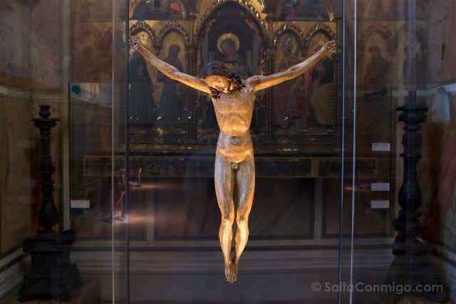 Italia Florencia Museo Bargello Crocifisso Gallino