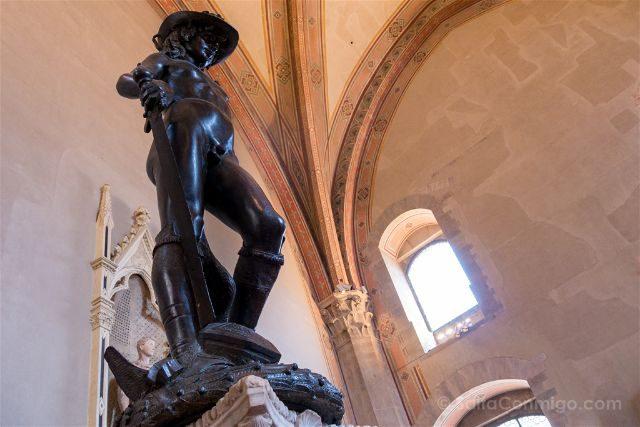 Italia Florencia Museo Bargello David Donatello