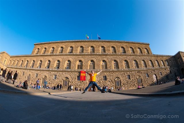 Italia Florencia Palazzo Pitti Salto