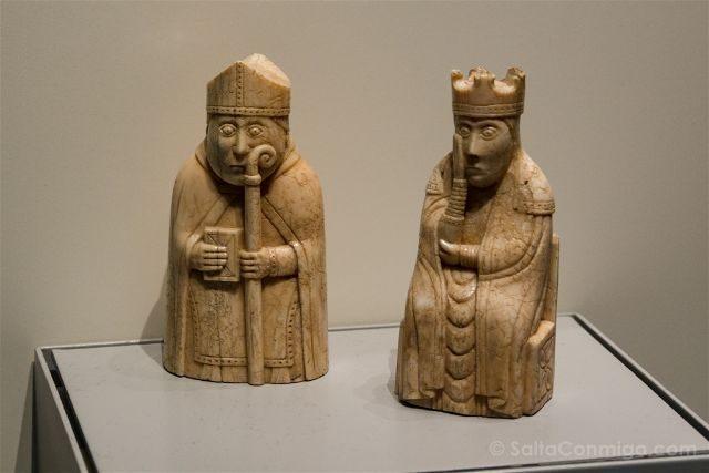 Londres British Museum Ajedrez Lewis