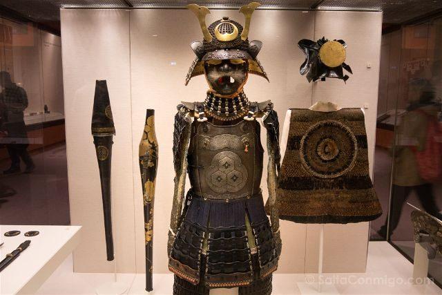 Londres British Museum Armadura Samurai