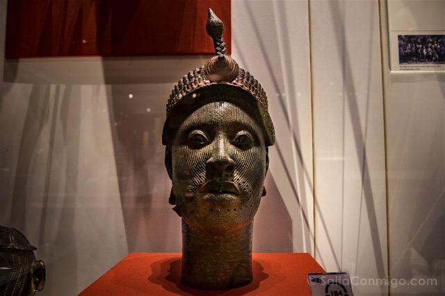 Londres British Museum Cabeza Ife