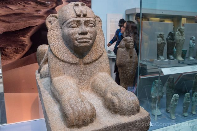 Londres British Museum Esfinge Taharqo