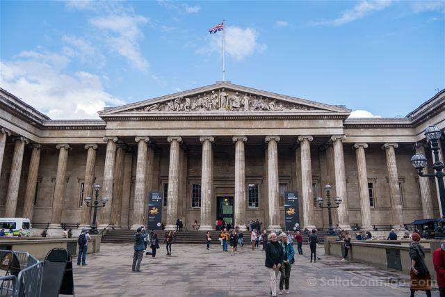 Londres British Museum Fachada