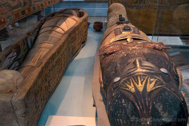 Londres British Museum Momia Katebet