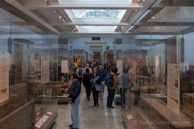 Londres British Museum Salas
