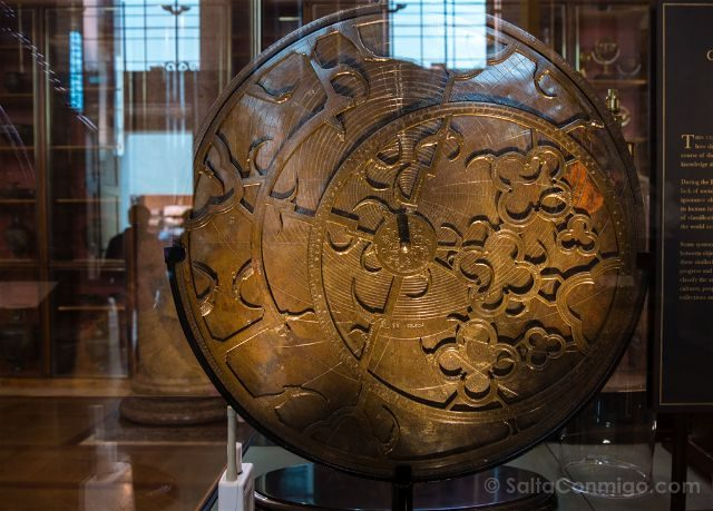 Londres British Museum Sloane Astrolabe