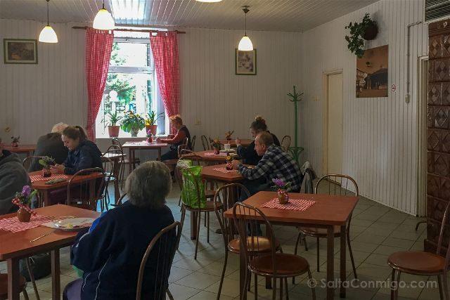 Polonia Cracovia Milk Bar Leche Interior