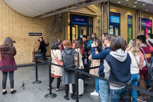 Reino Unido Londres Kings Cross Harry Potter