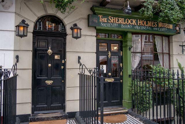 Reino Unido Londres Sherlock Holmes Baker St