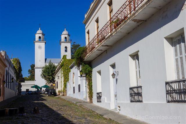 Uruguay Colonia del Sacramento Calle Portugal Basilica