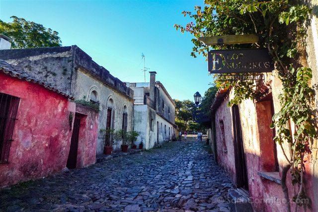 Uruguay Colonia del Sacramento Calle Suspiros