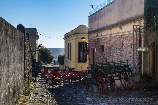 Uruguay Colonia del Sacramento Calle