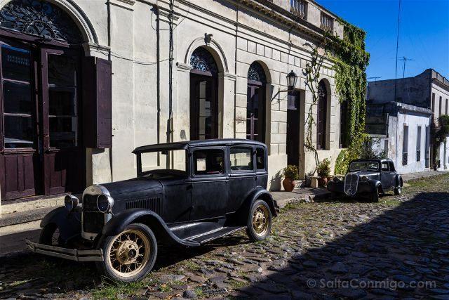 Uruguay Colonia del Sacramento Coches