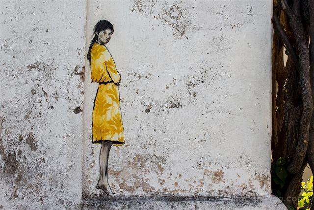 Uruguay Colonia del Sacramento Grafiti