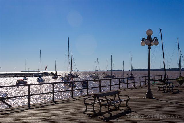 Uruguay Colonia del Sacramento Muelle