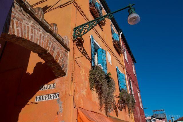 Venecia Burano Casa Calle Prepiero