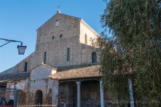 Venecia Torcello Basilica Santa Maria Assunta Fachada