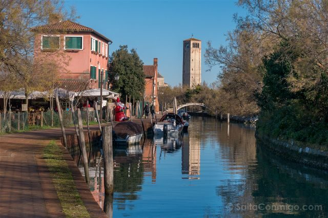 Venecia Torcello Sendero