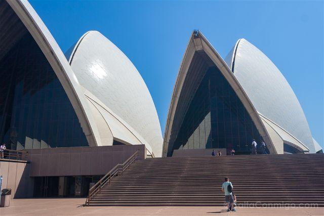 Australia-Sidney Opera Entrada