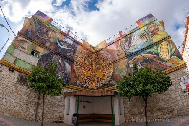 Cordoba Montilla Mural Inca