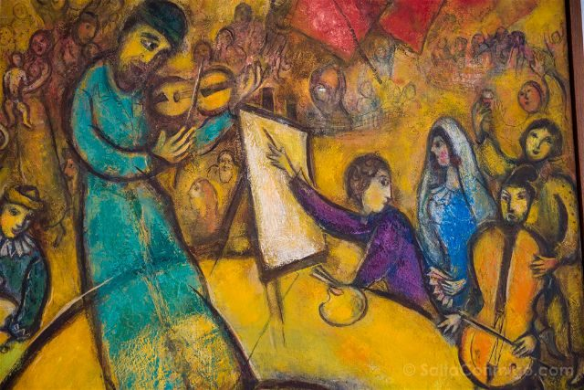 Francia Niza Museo Nacional Marc Chagall Liberacion Detalle