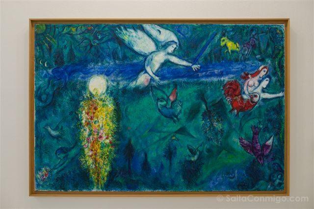 Francia Niza Museo Nacional Marc Chagall Mensaje Biblico Adan Eva Expulsados Paraiso