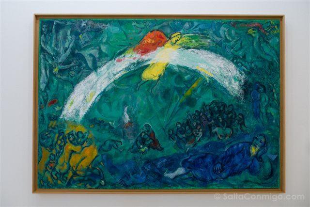 Francia Niza Museo Nacional Marc Chagall Mensaje Biblico Noe Arco Iris