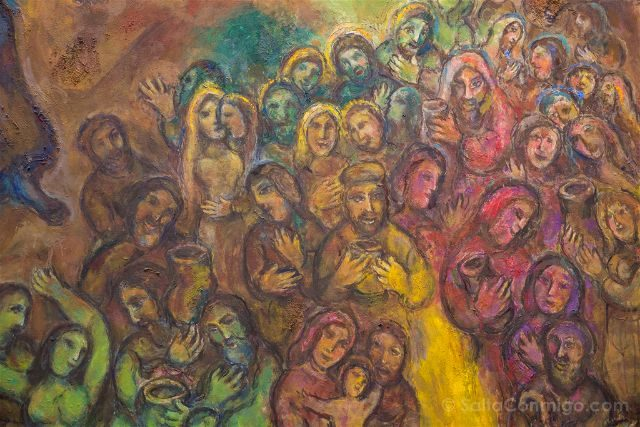 Francia Niza Museo Nacional Marc Chagall Mensaje Biblico Roca Agua Detalle