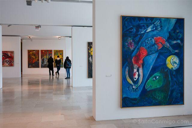 Francia Niza Museo Nacional Marc Chagall Panorama