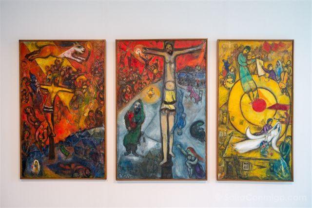 Francia Niza Museo Nacional Marc Chagall Resistencia Resurreccion Liberacion