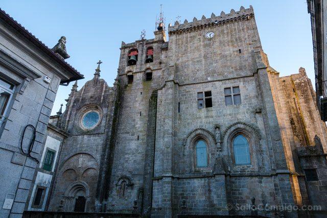 Galicia Rias Baixas Catedral de Tui Fachada Lateral