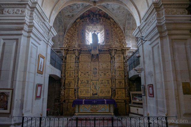 Galicia Rias Baixas Catedral de Tui Interior Capilla San Telmo