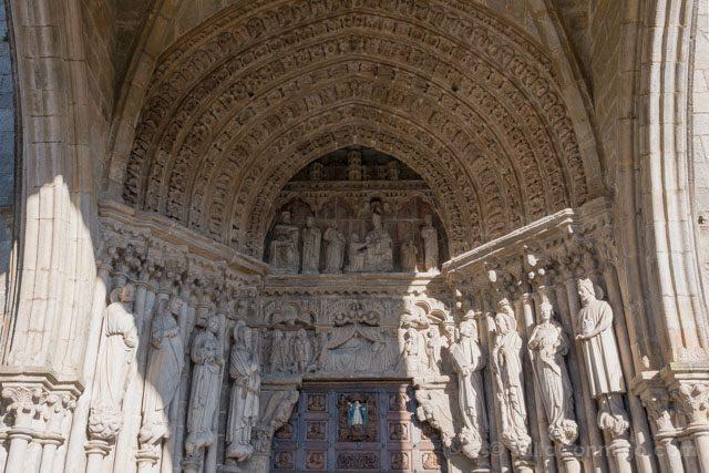 Galicia Rias Baixas Catedral de Tui Portada