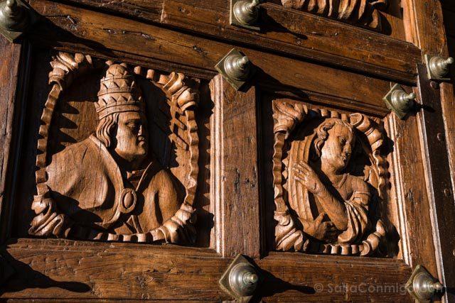 Galicia Rias Baixas Catedral de Tui Puerta