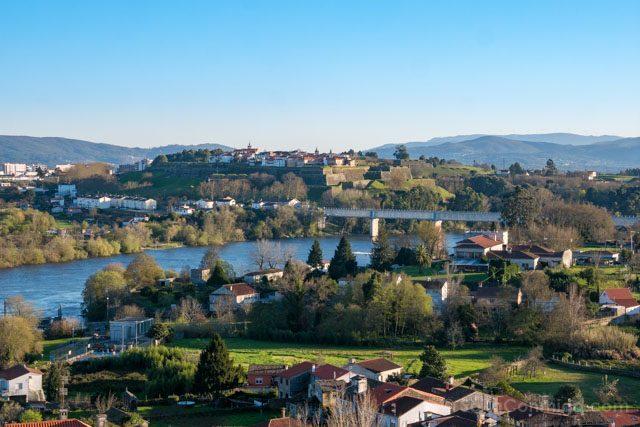 Galicia Rias Baixas Catedral de Tui Terraza Valencia Minho