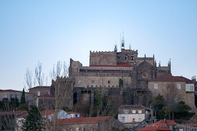 Galicia Rias Baixas Catedral de Tui Vista Parador