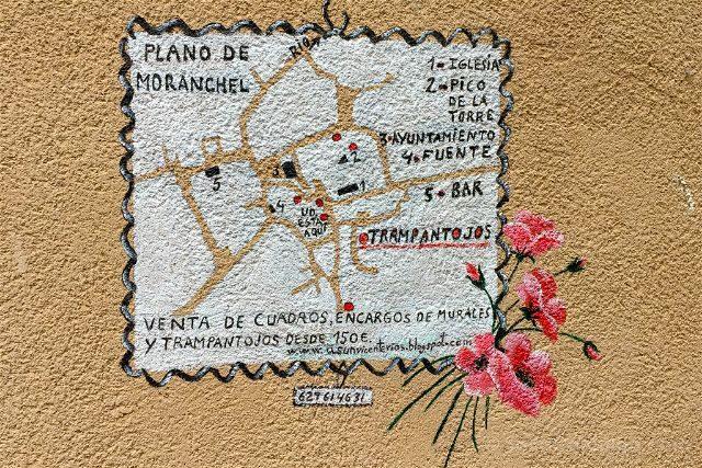 Guadalajara Trampantojos Moranchel Mapa