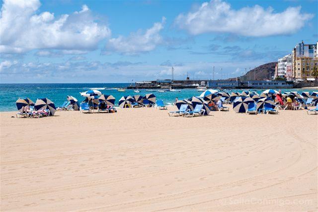 Las Palmas de Gran Canaria Playa Las Canteras Arena