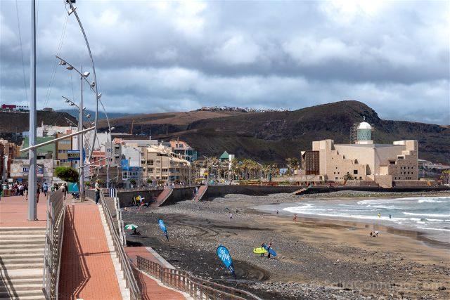 Las Palmas de Gran Canaria Playa Las Canteras Paseo Auditorio Alfredo Kraus