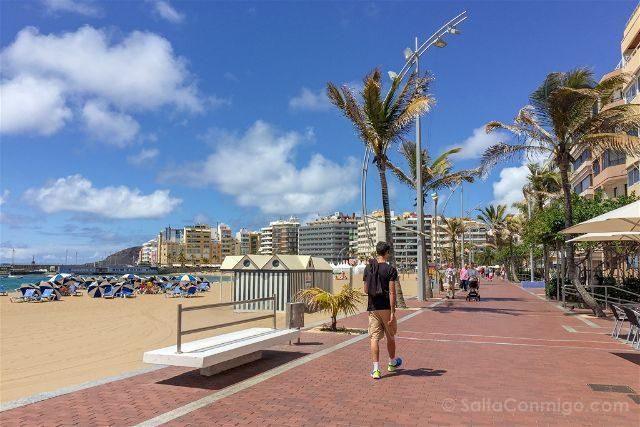 Las Palmas de Gran Canaria Playa Las Canteras Paseo