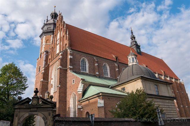 Polonia Cracovia Barrio Judio Kazimierz Basilica Corpus Christi