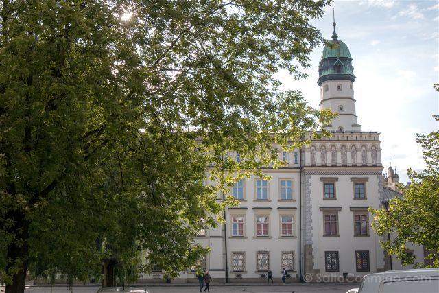 Polonia Cracovia Barrio Judio Kazimierz Plaza Wolnica Ayuntamiento