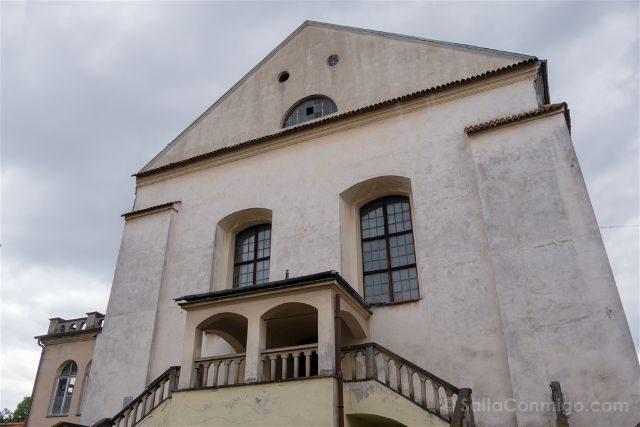 Polonia Cracovia Barrio Judio Kazimierz Sinagoga Isaac