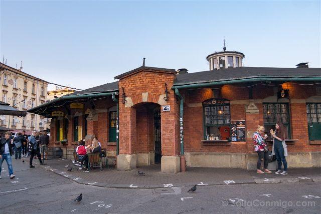 Polonia Cracovia Barrio Kazimierz Judio Plac Nowy