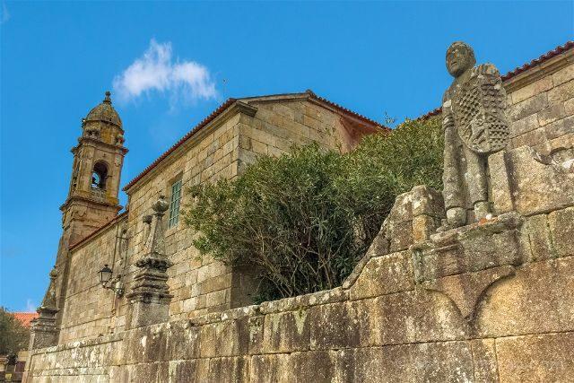 Rias Baixas Cambados Iglesia San Benito Balboa