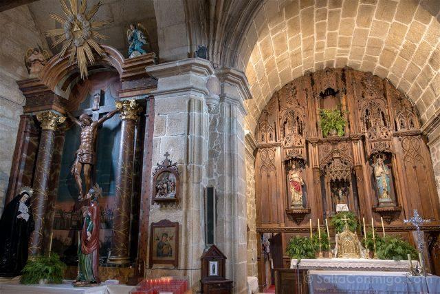 Rias Baixas Cambados Iglesia San Benito Interior